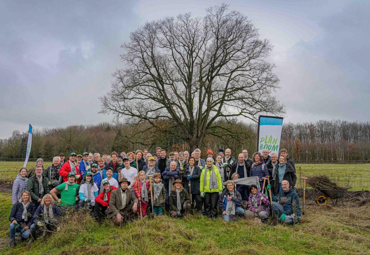 De eerste tweeduizend bomen zijn geplant!