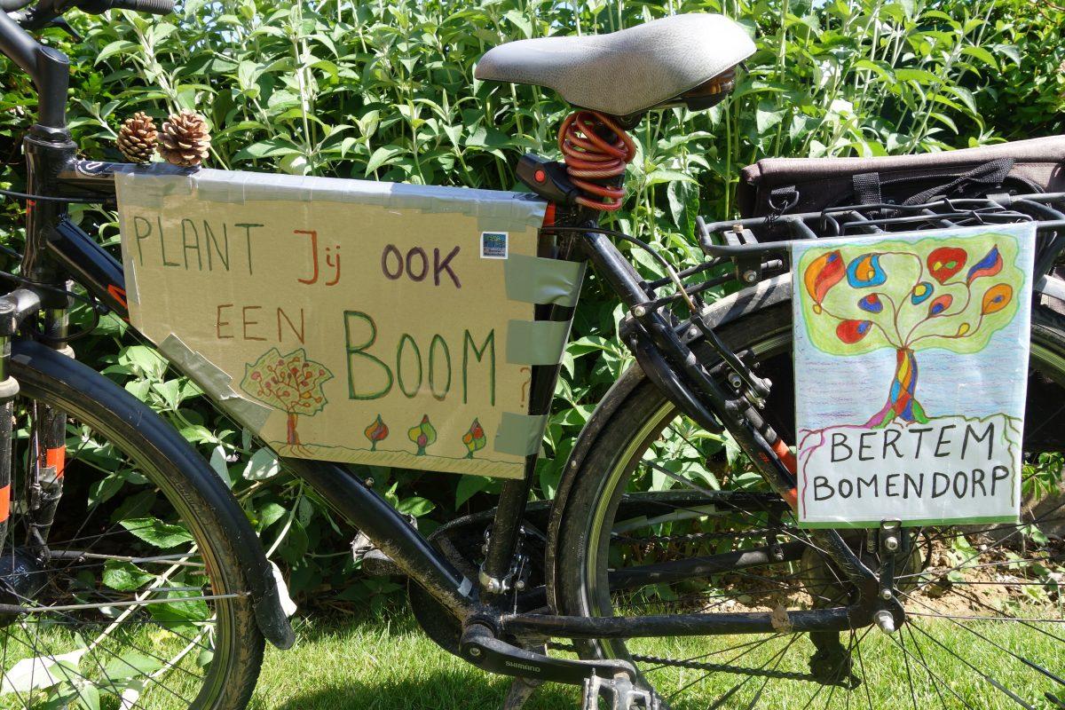 Gemeenten België tekenen voor boomaanplant
