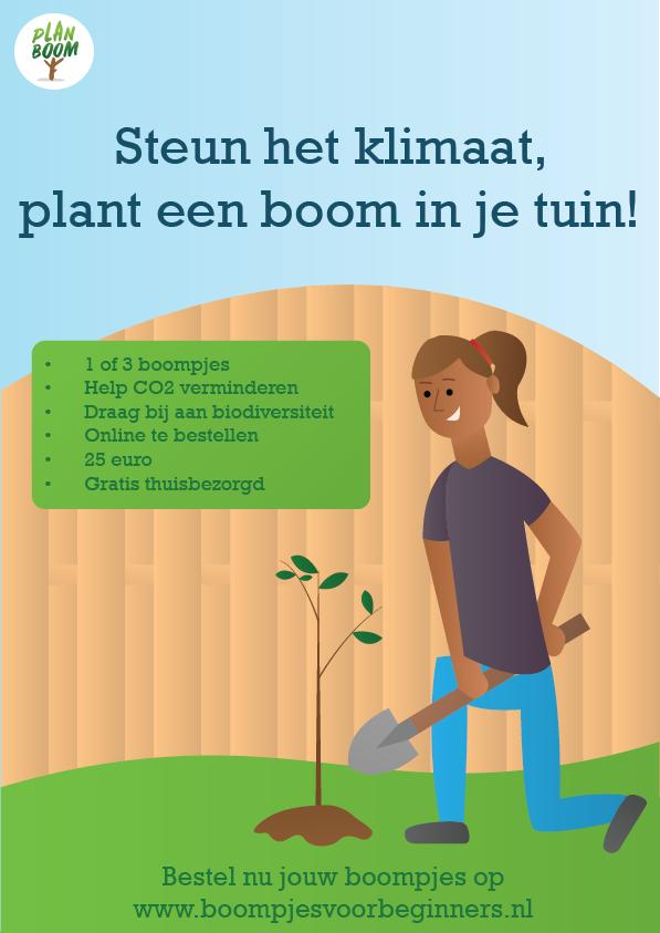 Boompjes bestellen voor je tuin