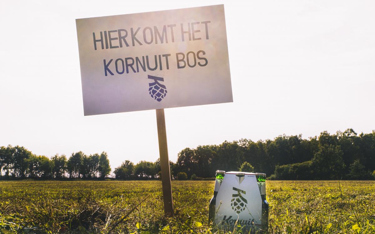 Koninklijke Grolsch krijgt eigen 'Kornuitbos'